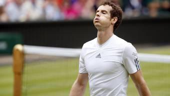 Erleichterung bei Murray nach einem harten Kampf um den Einzug ins Halbfinale