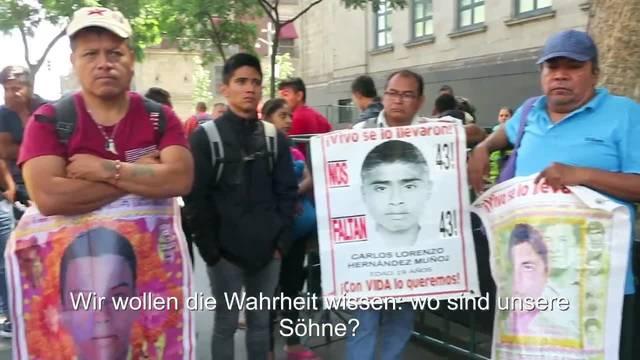 Die Mexikanerin Cristina Bautista sucht seit über 4 Jahren ihren Sohne Benjamín.