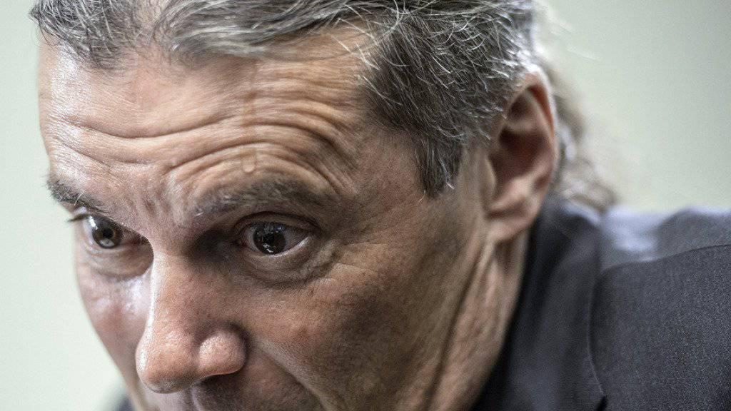 Herbe Niederlage für Oskar Freysinger: Der SVP-Staatsrat wurde am Sonntag von den Walliser Wählerinnen und Wählern abgewählt.