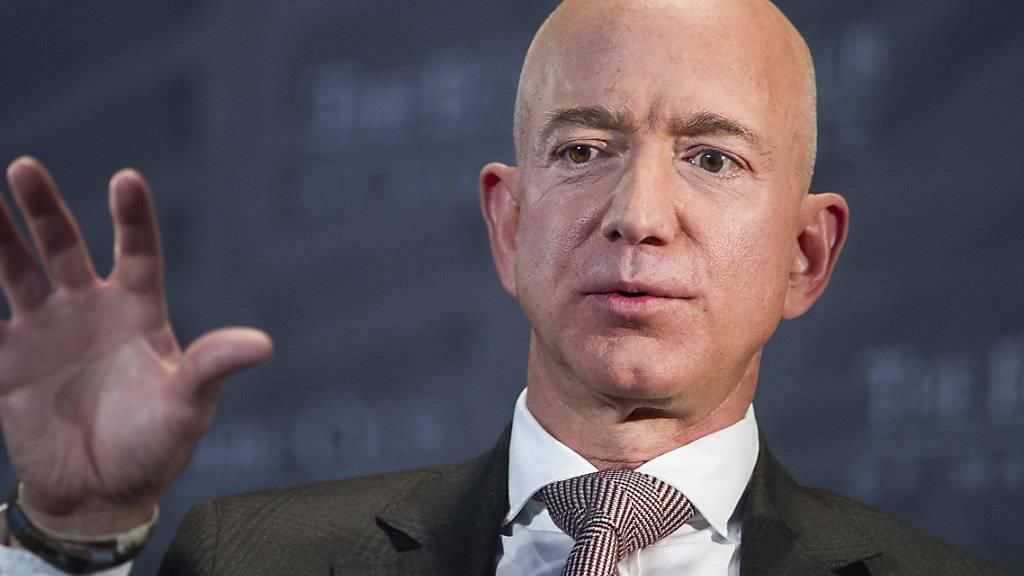 Der reichste Mann der Welt, Jeff Bezos, werde mit der Publikation von intimen Fotos erpresst, heisst es in einem öffentlichen Brief. (Archivbild)