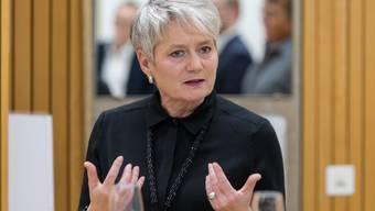 Denkt gerne quer: Die Zürcher Justizdirektorin Jacqueline Fehr (SP).