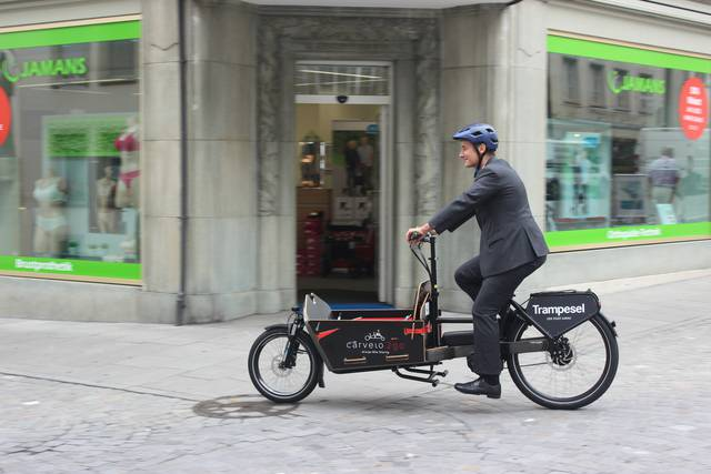 Lancierung Cargo Bike Sharing