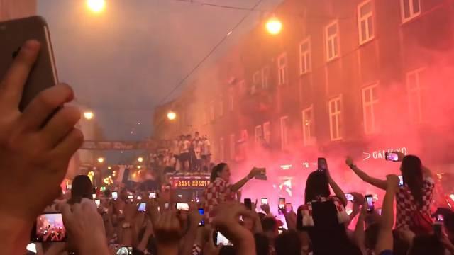 Eine halbe Million Fans wartet auf Kroatien-Nati