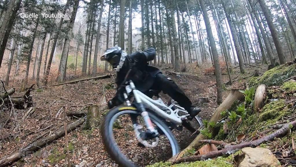 Ist die Bike-Strecke am Weissenstein schädlich für die Natur?