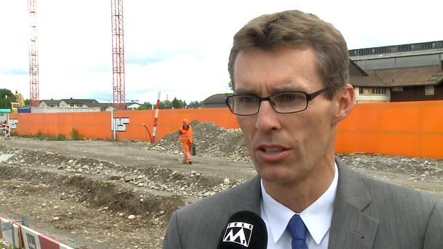 «Ob es mehr kostet und wer diese Kosten tragen wird, ist noch völlig offen»: Stadtrat Lukas Pfisterer nach dem Bundesgerichts-Urteil zum Aarauer Stadion.