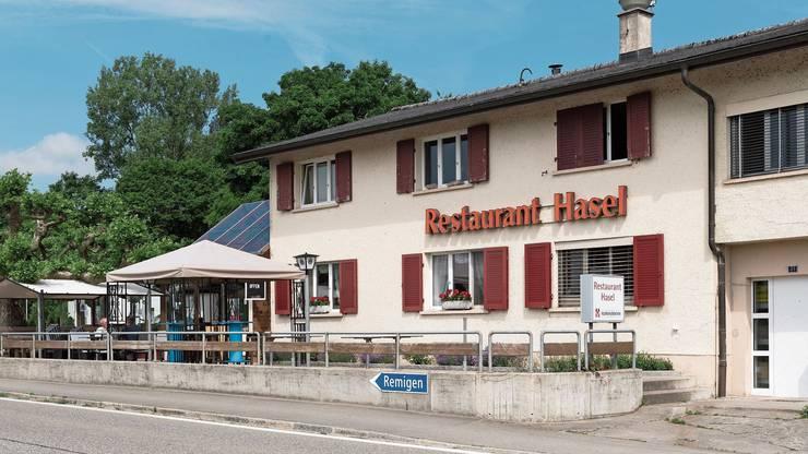 Das Restaurant Hasel war früher ein beliebter Treffpunkt.