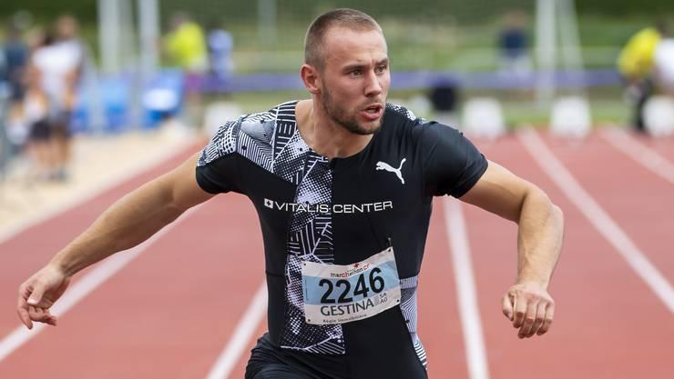 Silvan Wicki führt derzeit die europäischen Jahresbestenlisten über 100 und 200 Meter an.