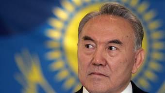 Der Präsident Kasachstans, Nursultan Nasarbajew (Archiv)