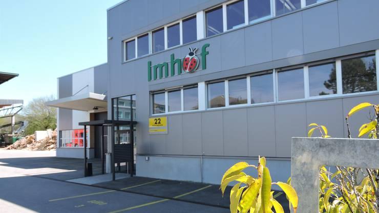 Leergeräumt: Die Imhof Bio-Logistik AG musste ihren Betrieb in Kleindöttingen einstellen. Noch gibts keinen Nachfolger.