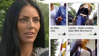 Auf einer Website hat der Wohler Spanner gegen 140 Filme gestellt hat. Die Opfer sind empört: «Mein ganzes Gesicht ist permanent auch drauf», sagt die 26-jährige Ramona.