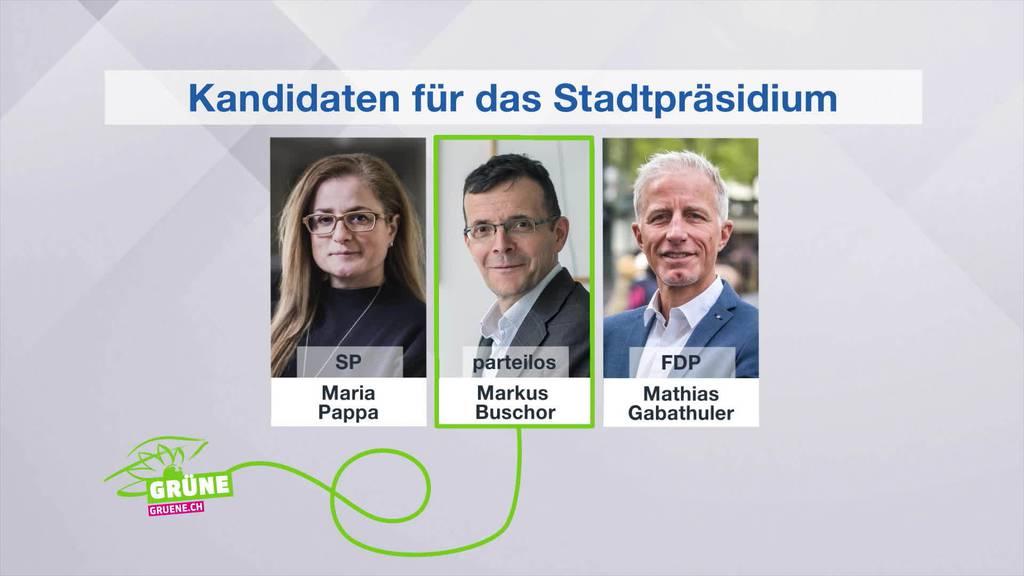 Überraschung:Grüne empfehlen nicht SP für das Stadtpräsidium