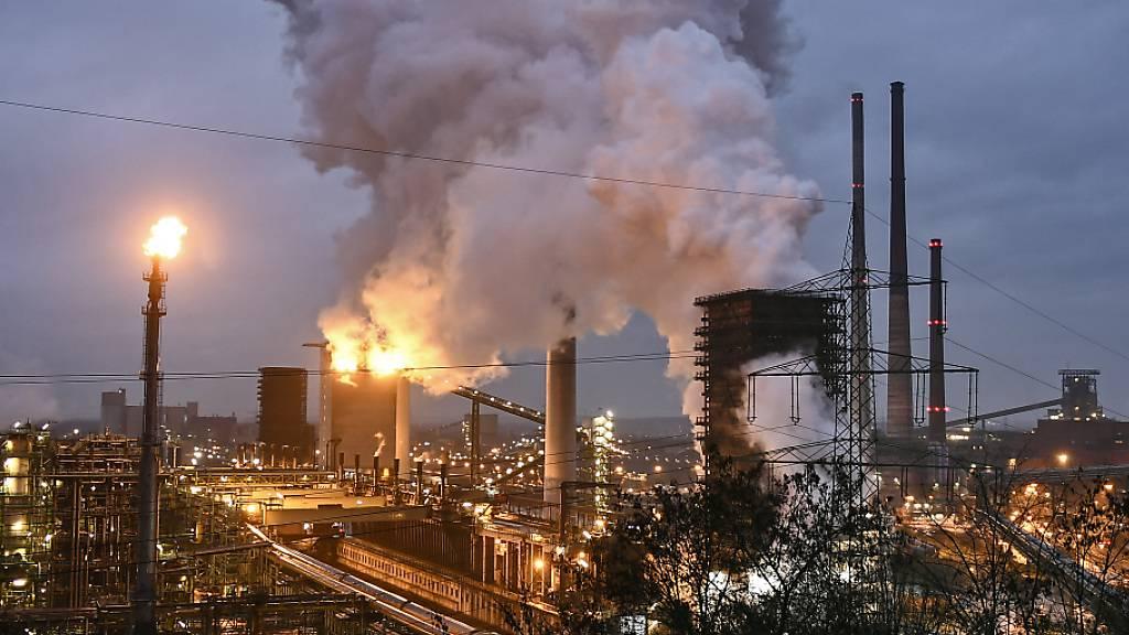 Deutscher Industrie brechen Aufträge weg - Minus von 25,8 Prozent