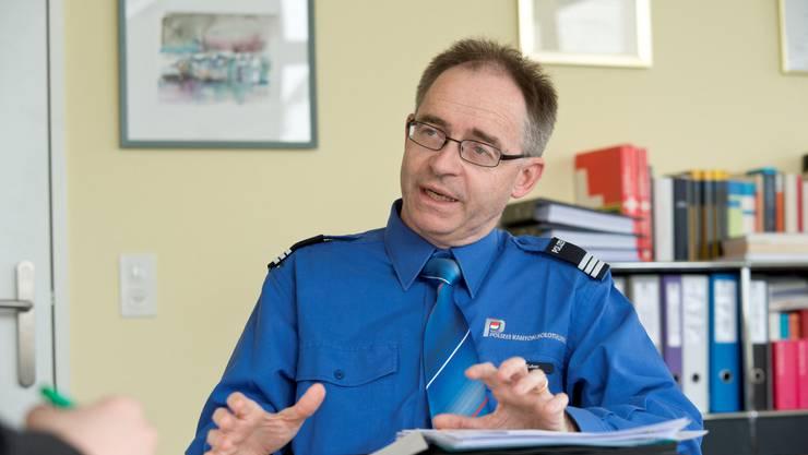 Will Gewalt verhindern: Kapo-Kommandant Thomas Zuber.