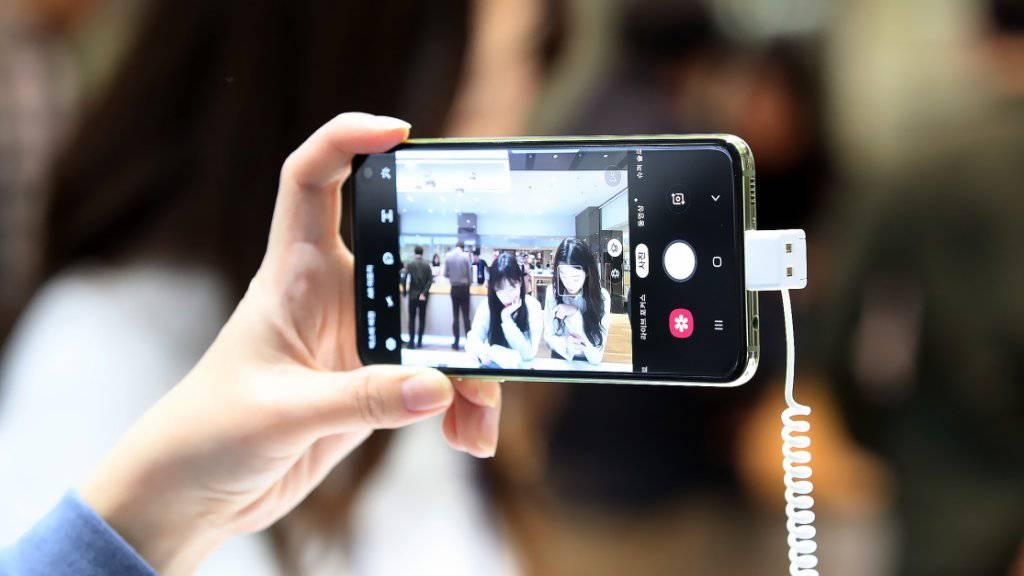 Trotz neuer Produkte dürfte Samsung im ersten Quartal weniger Umsatz und Gewinn erzielen. (Archivbild)