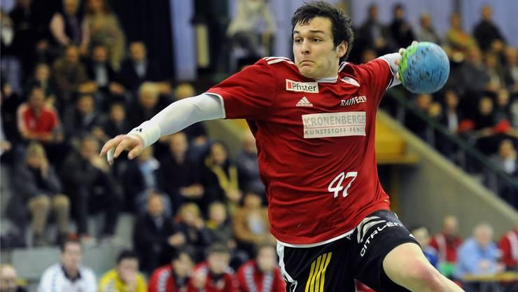 Patrick Strebel vom HSC Suhr Aarau ist einer von fünf Aargauern in der Nationalmannschaft.