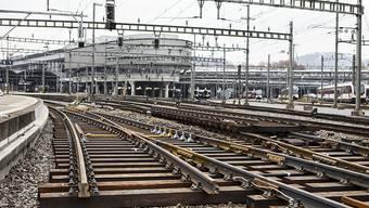 Insgesamt wechseln die SBB sieben Gleise am Bahnhof Luzern aus.