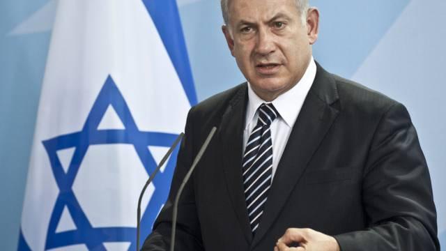 Israels Regierungschef Benjamin Netanjahu (Archiv)