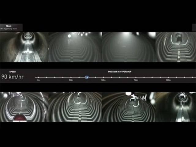 MIT Hyperloop test 29 January 2017