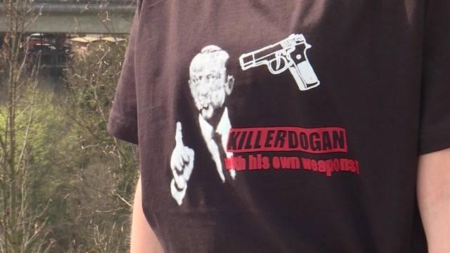 «Kill Erdogan»-T-Shirt: Tragen auf eigene Gefahr
