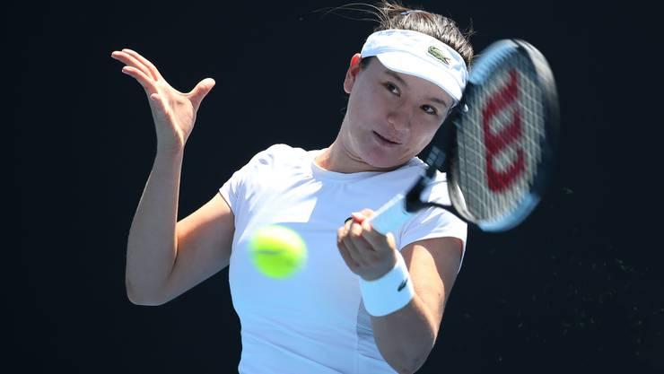 Lulu Sun scheitert bei den Juniorinnen an den Australian Open erst im Viertelfinal