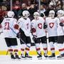 Die Schweizer Junioren wollen auch im Halbfinal gegen Finnland jubeln