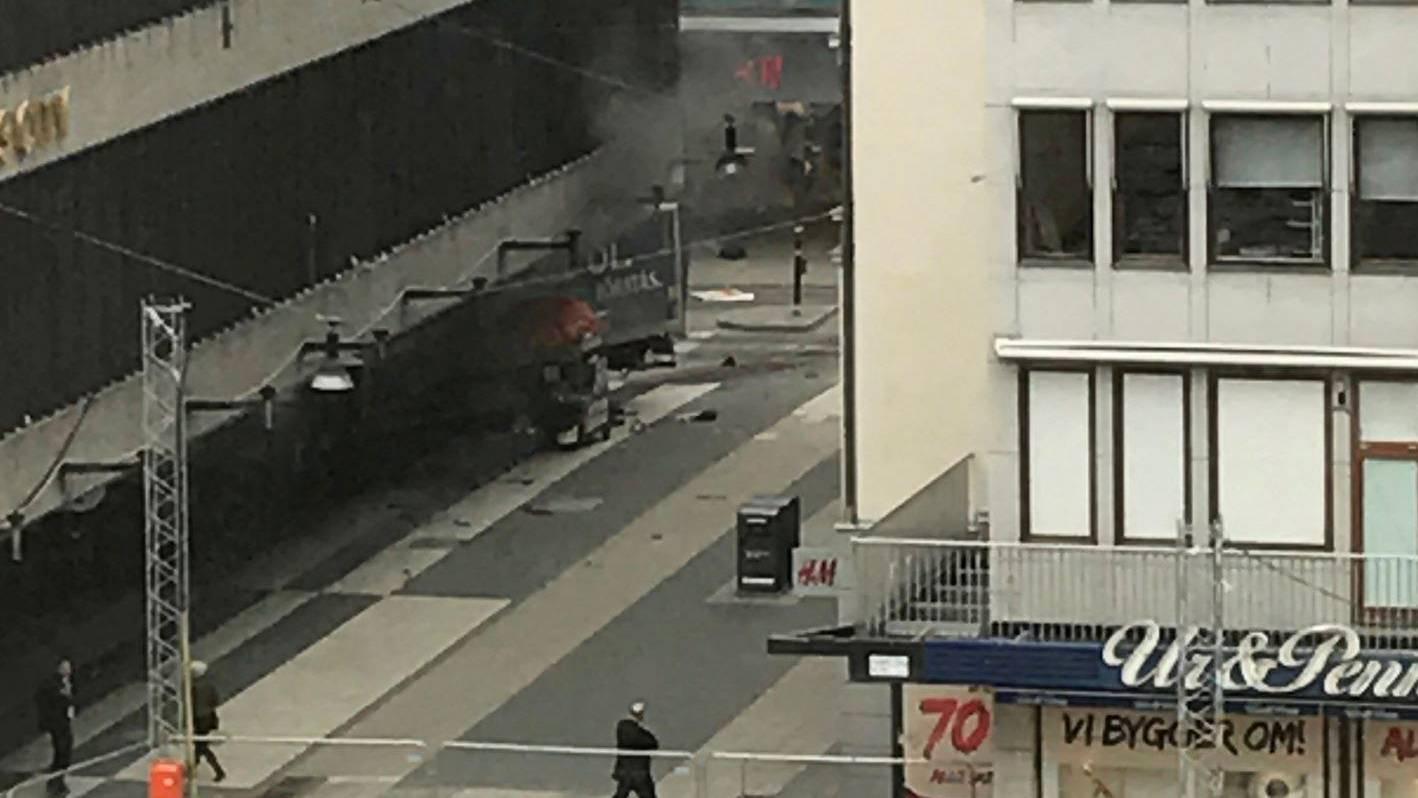 Terroranschlag in Stockholm