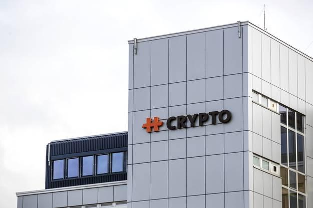 Der Sitz der Firma Crypto im Jahr 2020, inzwischen von der CIA verkauft.