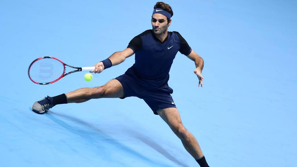 Federer im Schanghai-Halbfinal ohne Chance