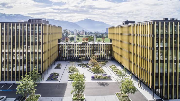 Ein imposanter Bau: So sieht der neue Biogen-Hauptsitz in Baar ZG aus.