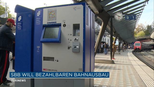 SBB will bezahlbaren Bahnausbau