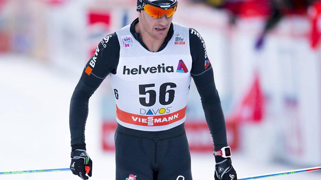 Die Weltcuprennen in La Clusaz finden am Samstag und Sonntag ohne Dario Cologna statt