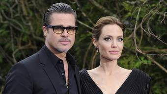"""Brad Pitt und Angelina Jolie – jetzt sind sie kein Paar mehr. Das Bild zeigt sie im Mai 2014 in London an einem Event zum Kinofilm """"Maleficent"""", in dem Jolie in einer Hauptrolle zu sehen ist."""