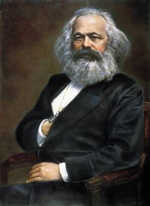 Karl Marx, Begründer des Kommunismus, war sechs Jahre älter als sein literarisches Idol Dickens.