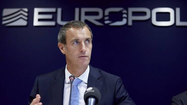 """""""Die Terrorgefahr ist die höchste, die wir seit einer Generation hatten"""": Europol-Chef Rob Wainwright. (Archivbild)"""