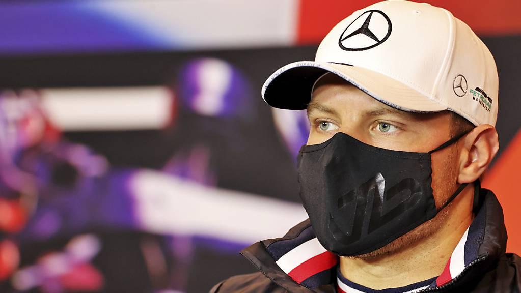 Valtteri Bottas steht am Sonntag zum 17. Mal in der Formel 1 auf der Pole-Position.