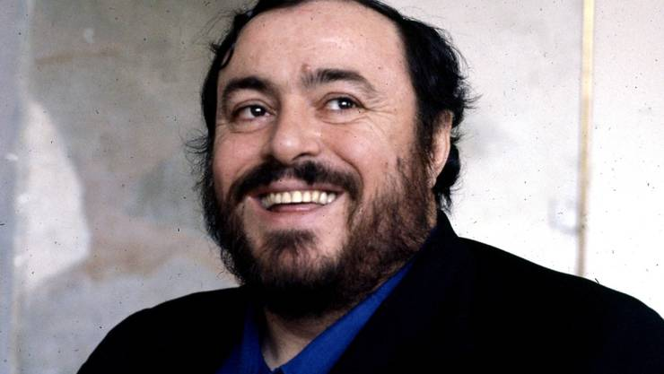 """Luciano Pavarotti (1935-2007) fördert noch posthum junge Künstler, indem seine Erben ihnen die """"Villa Giulia"""" zur Verfügung stellen (Archiv)."""
