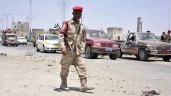 Nach den Luftangriffen wurden die Sicherheitsmassnahmen verstärkt