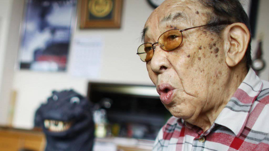 Haruo Nakajima, der erste Darsteller des Godzilla, ist mit 88 Jahren gestorben. (Archivbild)