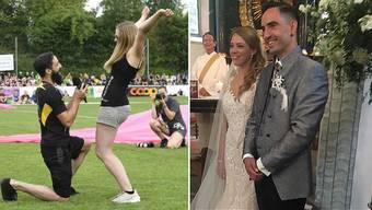 Janine Zeiher und Matthias Heggli haben geheiratet.