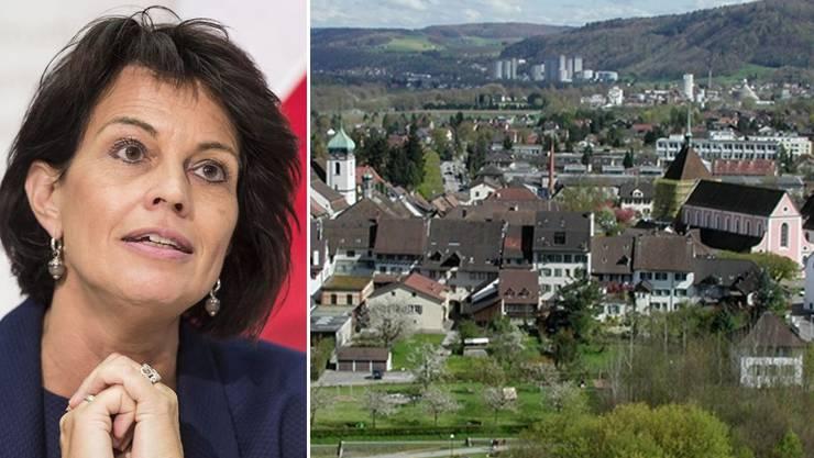 Doris Leuthard wird zu Gast sein in Bad Zurzach