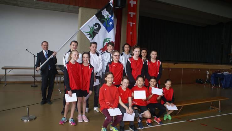 Anlässlich der DV wurden zahlreiche Einzelsportler geehrt.