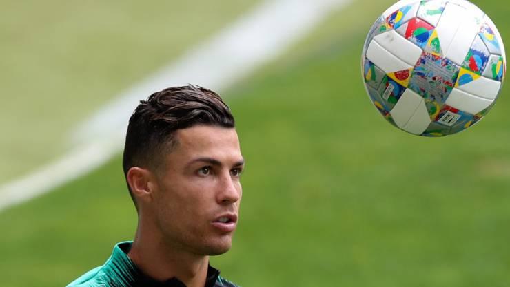 Cristiano Ronaldo wird auch im Spiel gegen die Schweiz im Fokus stehen.