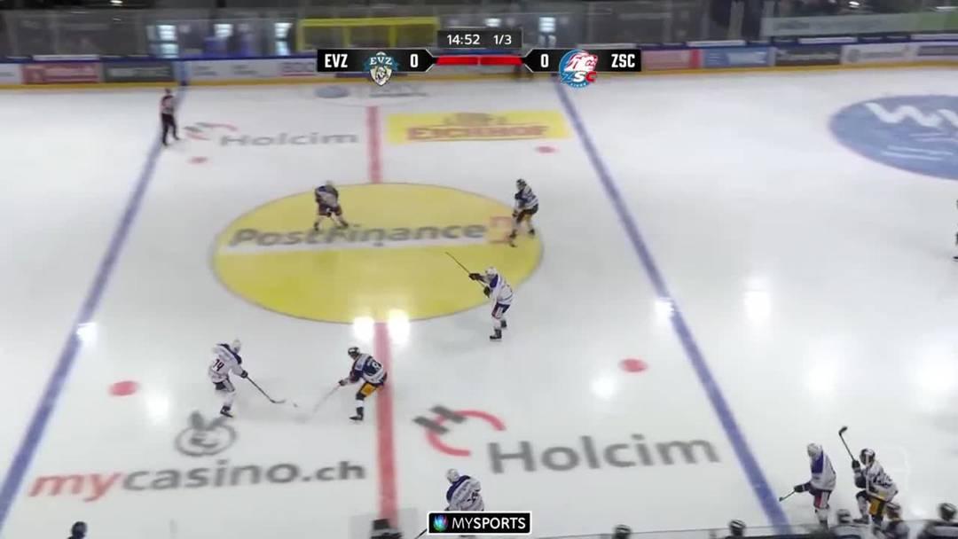 Zug fegt ZSC Lions mit 8:2 vom Eis