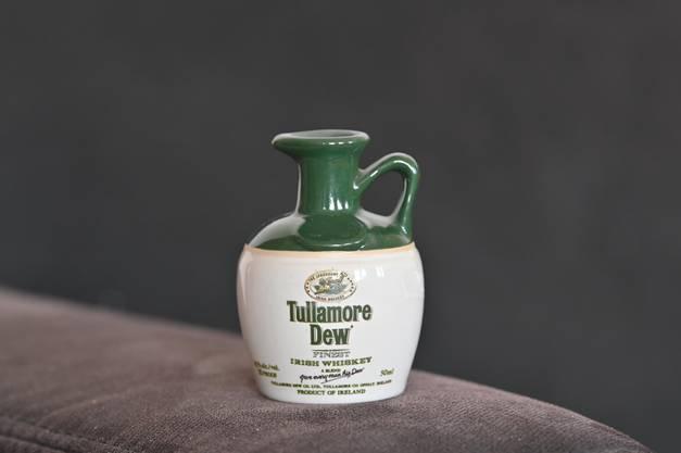 Diese Flasche des Irischen Whiskeys gehört zu denjenigen, die Kissling wegen ihrer speziellen Form behalten möchte.