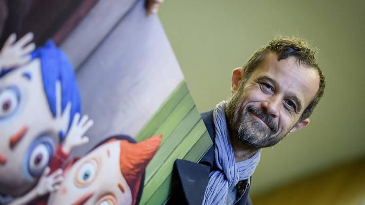 """""""Ma vie de Courgette"""" von Claude Barras (Archivbild) ist bereits der erfolgreichste Schweizer Animationsfilm. In die Deutschschweizer Kinos kommt der Streifen im Februar."""