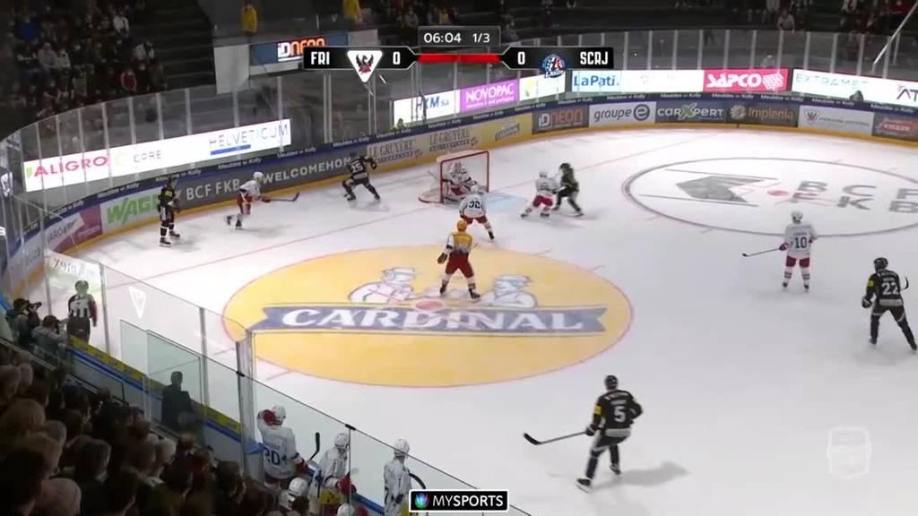 Fribourg-Gottéron siegt gegen die Rapperswil-Jona Lakers mit 2:1 - die Highlights