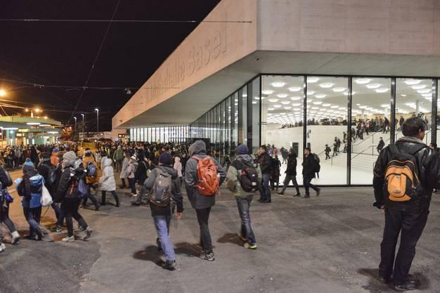 Rund 17'000 junge Christen kamen nach Basel.
