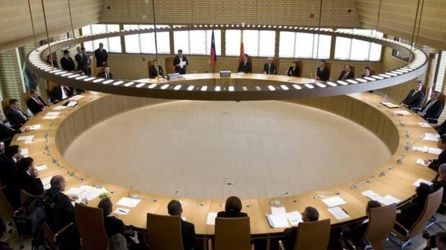 Blick in den Landtag Liechtensteins: Das Parlament lockerte das Bankgeheimnis gegenüber den USA weiter (Archiv)