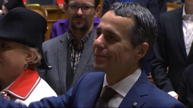 Ignazio Cassis wird Aussenminister