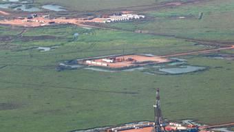Bau neuer Ölplattformen im Südsudan (Symbolbild)
